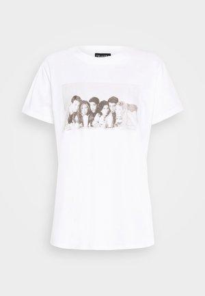 CLASSIC FRIENDS - Print T-shirt - white