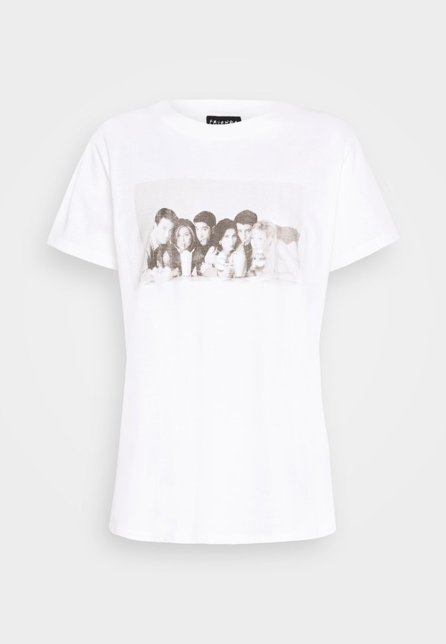 CLASSIC FRIENDS - T-shirts print - white