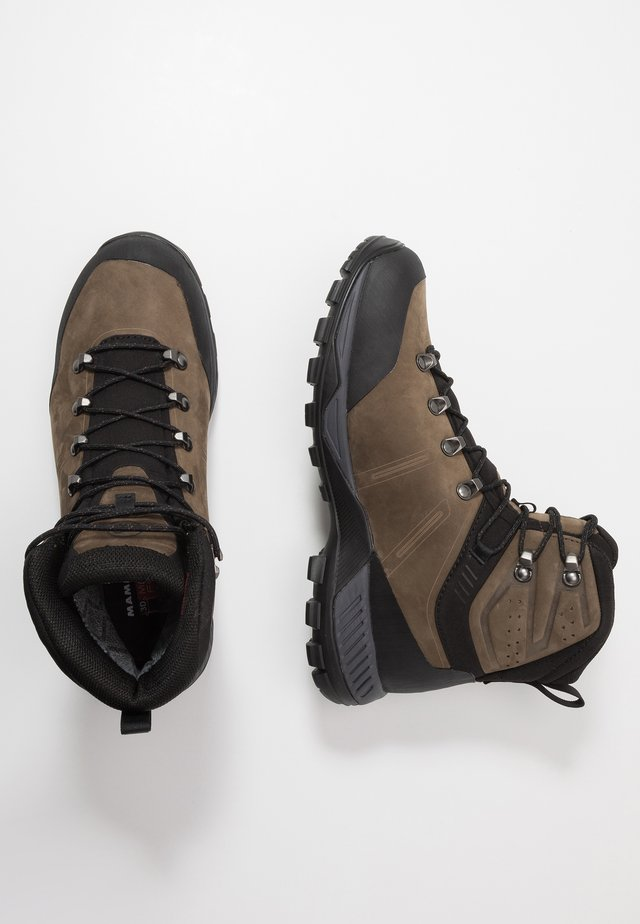 MERCURY TOUR II HIGH GTX MEN - Obuwie hikingowe - bark/black