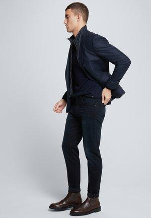 Blazer jacket - dunkelblau meliert