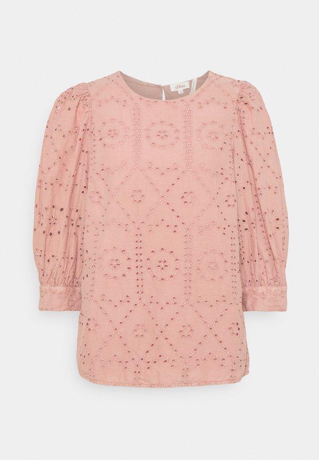 Langærmede T-shirts - blush