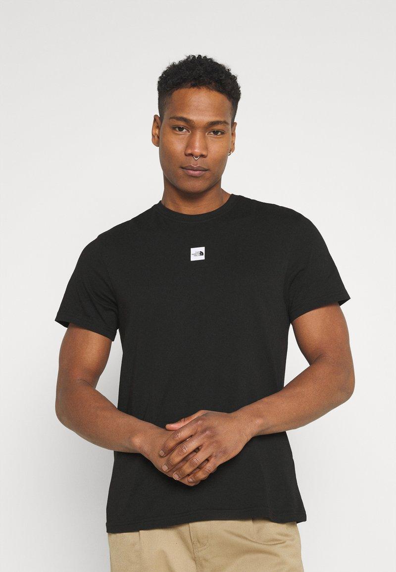 The North Face - CENTRAL LOGO  - T-shirt imprimé - black