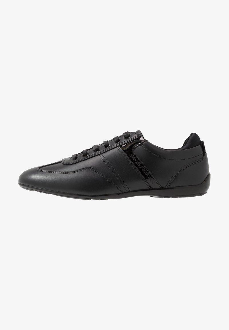 Emporio Armani - Baskets basses - black