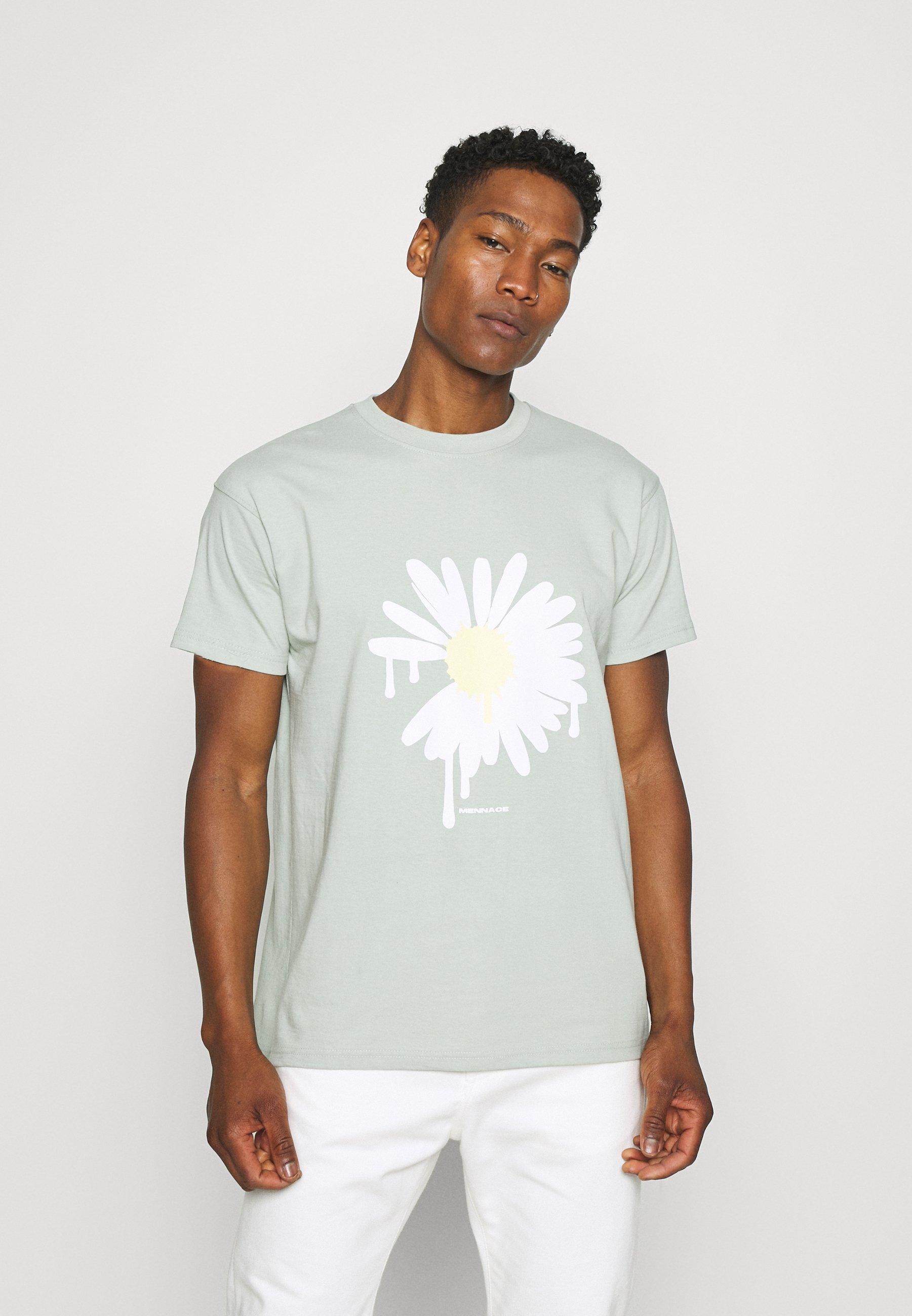Men SUNDAZE DAISY REGULAR UNISEX - Print T-shirt