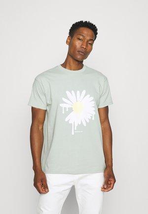 SUNDAZE DAISY REGULAR UNISEX - Print T-shirt - green