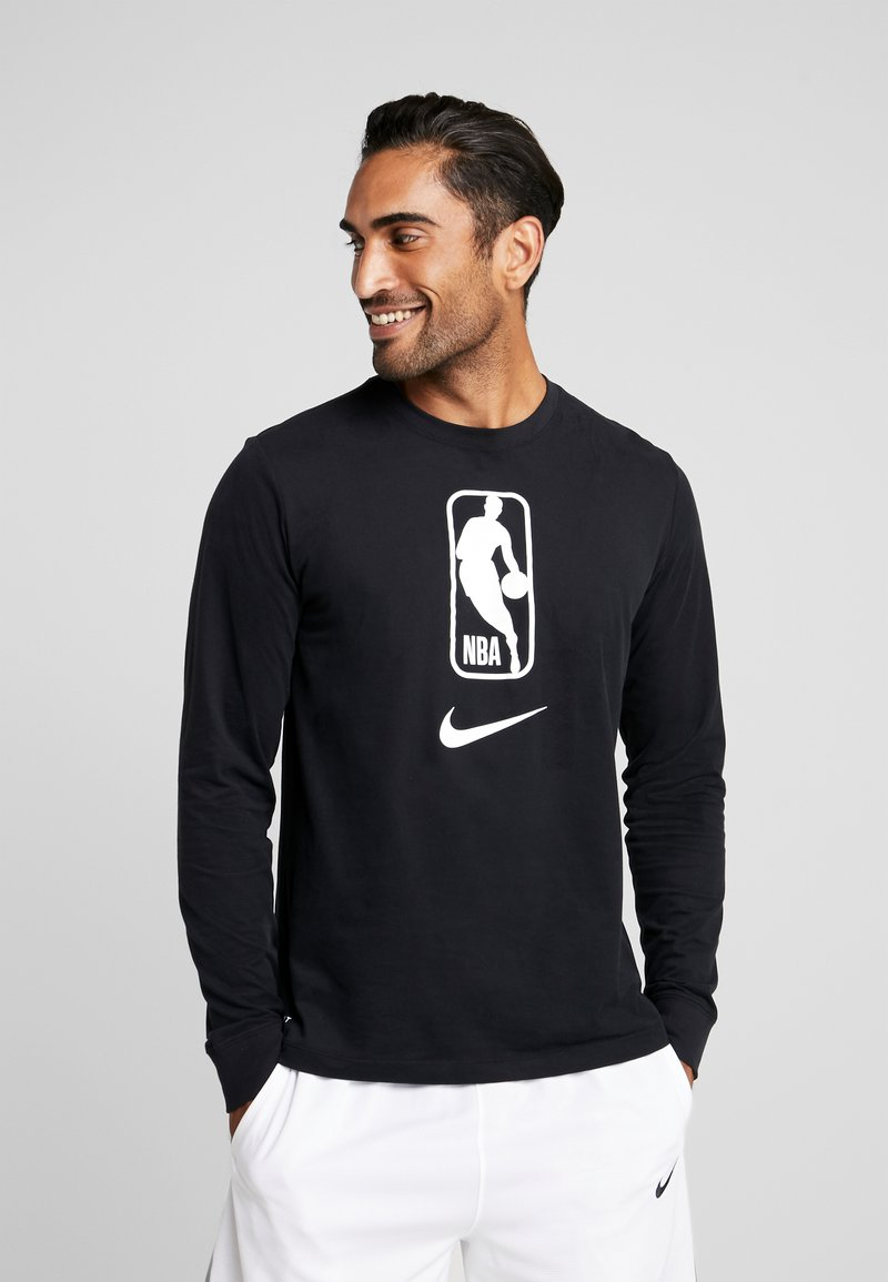 Nike Performance - NBA LONG SLEEVE - Camiseta de deporte - black/white