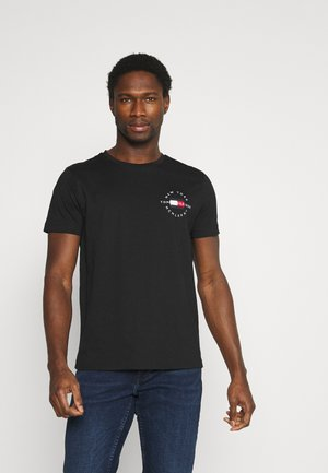 CIRCLE CHEST TEE - T-shirt print - black