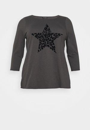 ANIMAL TEE - Long sleeved top - grey