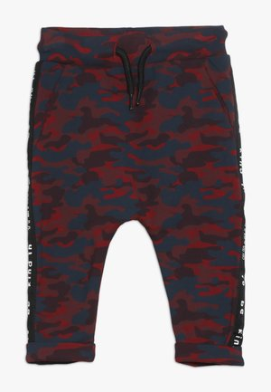 BABY PANT WITH TAPES - Trousers - blue/red