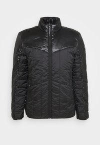 Calvin Klein - MULTI QUILT WADDED JACKET - Light jacket - black - 3