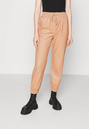 MADISON PANTS - Tracksuit bottoms - beige