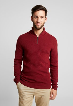 COWS - Sweter - dark red