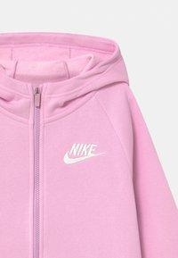 Nike Sportswear - FULL ZIP - Mikina na zip - light arctic pink/white - 2