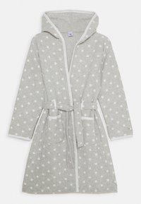 Petit Bateau - LIFEROBE DE CHAMBRE UNISEX - Dressing gown - beluga/ecume - 0