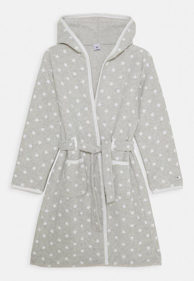LIFEROBE DE CHAMBRE UNISEX - Dressing gown - beluga/ecume