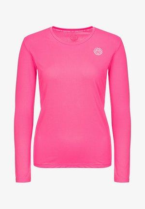 MINA - Long sleeved top - pink
