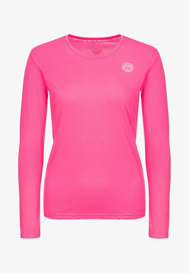 MINA - Long sleeved top - pink