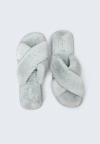 OYSHO - Slippers - grey - 1