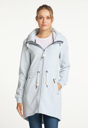Short coat - rauchblau melange