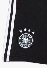 adidas Performance - DFB DEUTSCHLAND SHORT UNISEX - Urheilushortsit - black - 2