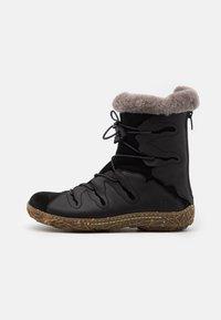 El Naturalista - NIDO - Winter boots - black - 1