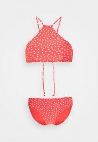 O'Neill - CALI RITA FIXED SET - Bikini - red/white - 4