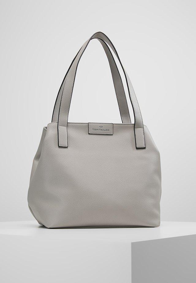 MIRI ZIP  - Shopping bag - grau