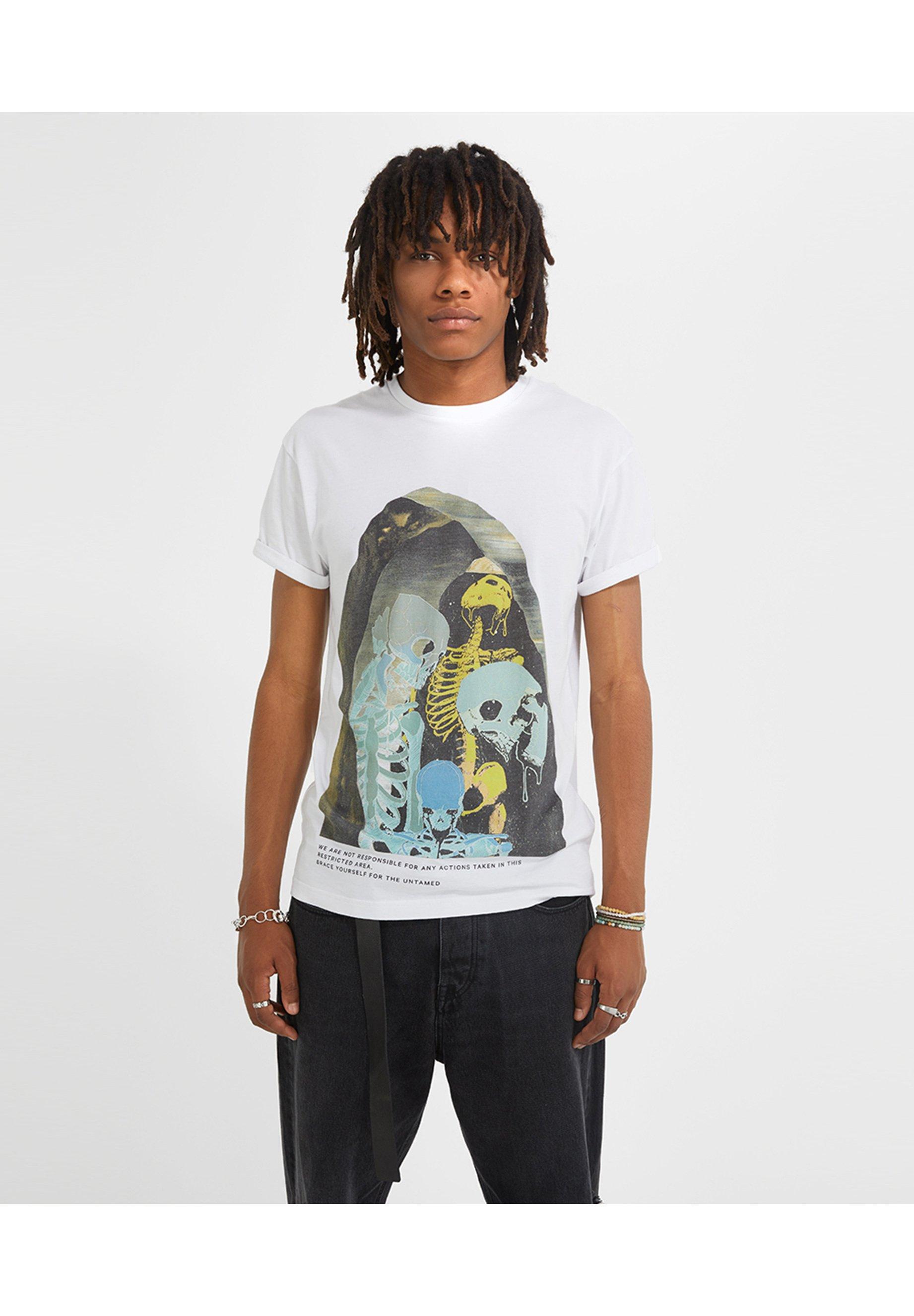 Herren SURREAL SKELETON ZANDER  - T-Shirt print