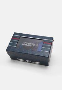Emporio Armani - SHORT SOCKS 3 PACK - Socks - bluette - 1