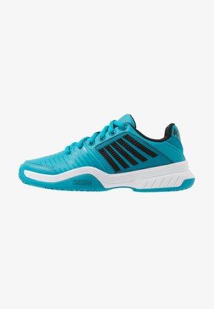 COURT EXPRESS OMNI - Multicourt tennis shoes - algiers blue/black/white