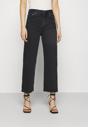 PANTS - Straight leg jeans - washed black