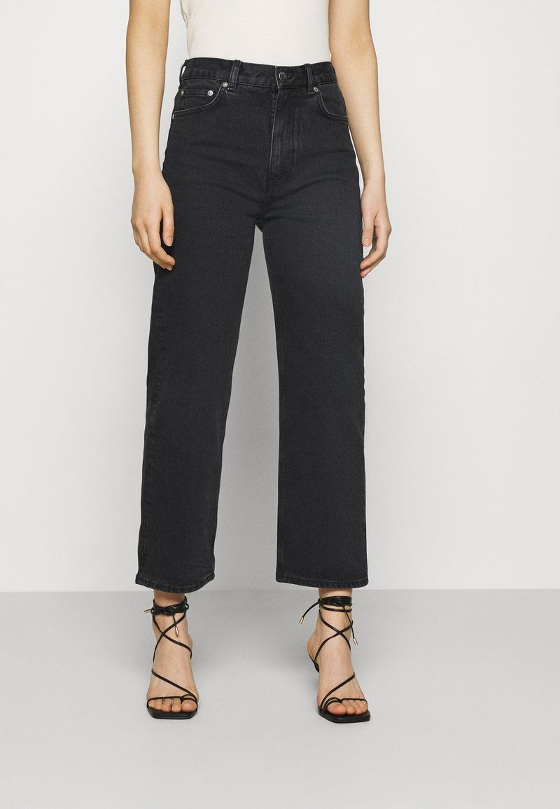 ARKET - PANTS - Vaqueros rectos - washed black
