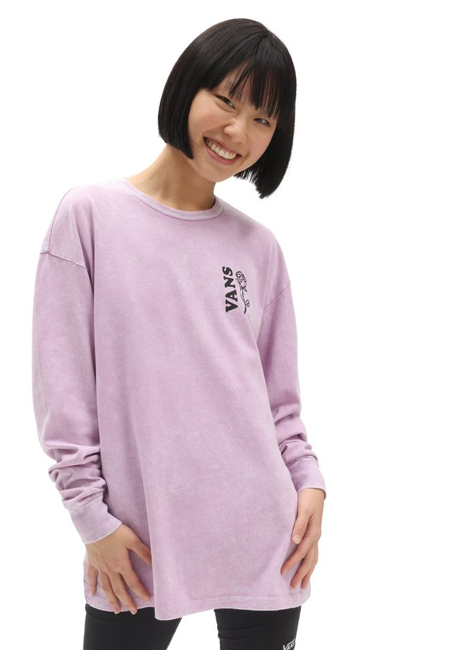 WM ALTA LOMA OS LS - Long sleeved top - orchid