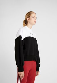 Champion - Sweatshirt - black/white - 0