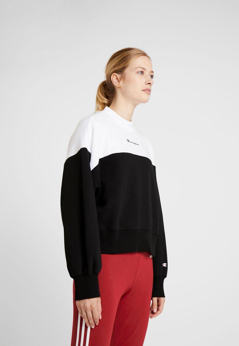 Champion - Sweatshirt - black/white