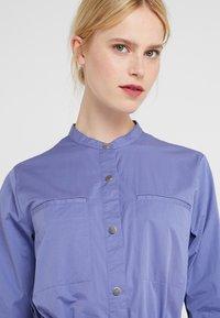 BOSS - ESPIRIT - Shirt dress - dark purple - 3