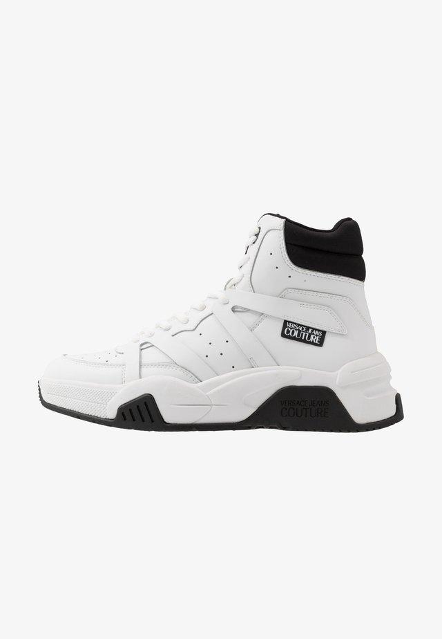 Sneakersy wysokie - bianco ottico