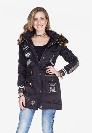 MONARCH - Winter coat - black