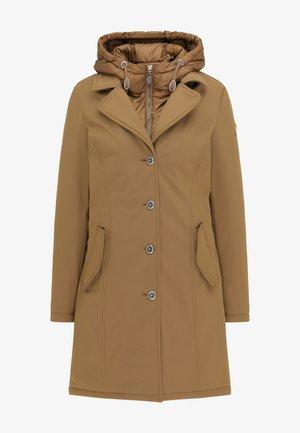 Zimní kabát - dunkelbeige