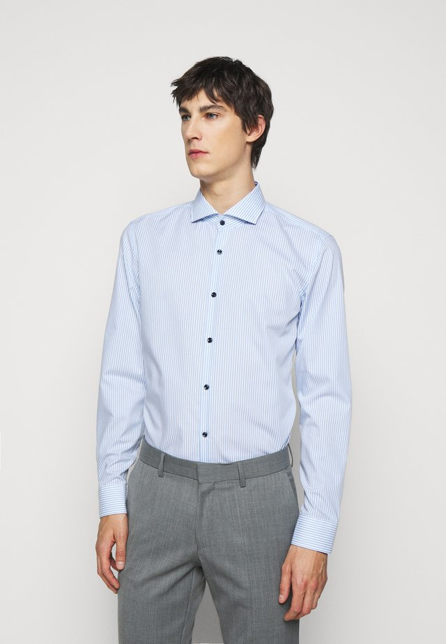 KASON SLIM FIT - Camicia elegante - light blue