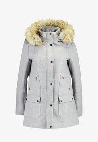 Vila - Classic coat - light grey melange - 4
