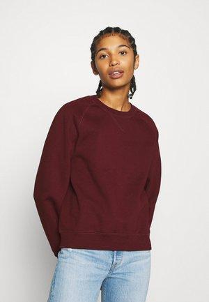 CHASE - Sweatshirt - bordeaux/gold