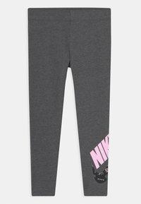 Nike Sportswear - ICON CLASH - Legíny - charcoal heather - 0