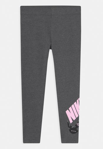 ICON CLASH - Leggings - Trousers - charcoal heather