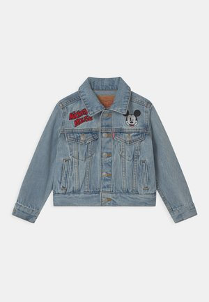 MICKEY MOUSE TRUCKER UNISEX - Denim jacket - light-blue denim