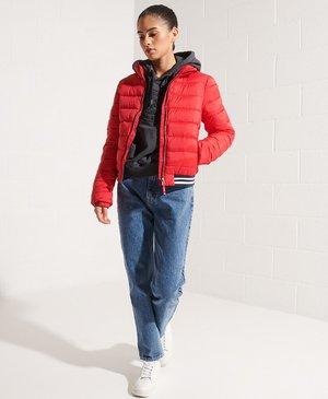 FUJI  - Winter jacket - risk red