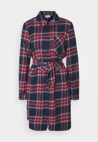 NMERIK   - Skjortklänning - dark blue, red, white