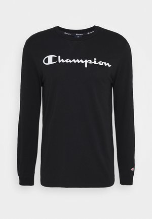 LEGACY CREWNECK LONG SLEEVE - Long sleeved top - black