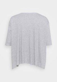 Simply Be - HANKY - Long sleeved top - grey marl - 1
