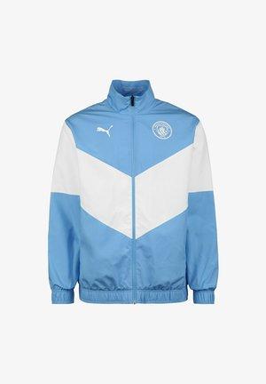 MANCHESTER CITY PRE MATCH - Sports jacket - team light blue puma white